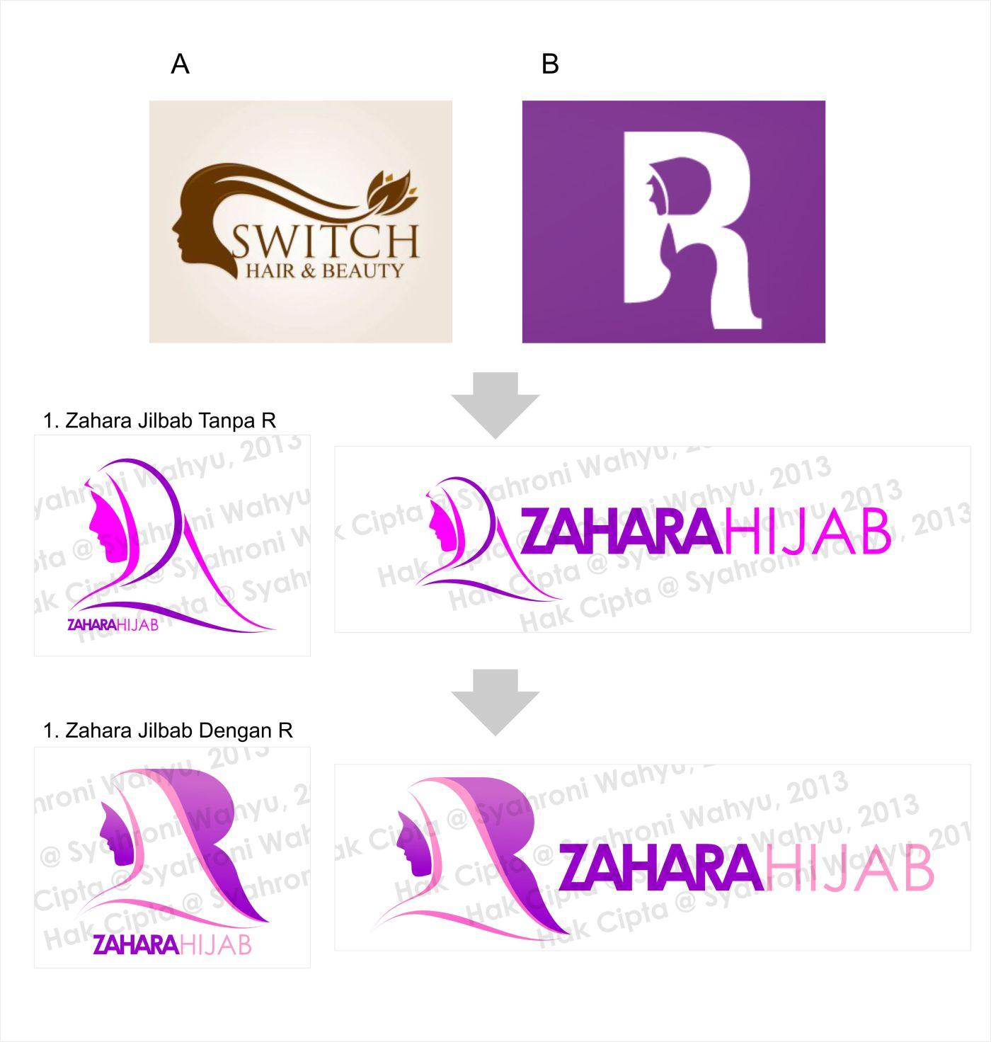 Konsep Zahara Hijab